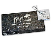 �8 piece Dilettante Ephemere Dark Chocolates in Gastonia NC, Fine And Fancy Flowers
