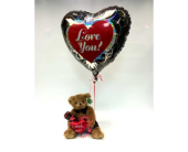 Valentine Gift Combo in Belleville ON, Live, Love and Laugh Flowers, Antiques and Gifts