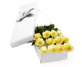 Boxed Yellow Roses in Mississauga ON, Flowers By Uniquely Yours
