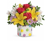 Delightful Dots Bouquet  in Smyrna GA, Floral Creations Florist