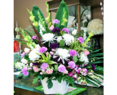 Purple Tribute in Mississauga ON, Flowers By Uniquely Yours