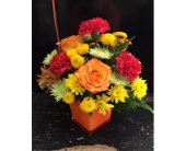 BRIGHT SMILE CUBE in Missouri City TX, Flowers By Adela