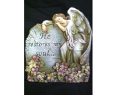 He Restores My Soul Plaque in New Iberia, Louisiana, Breaux's Flowers & Video Productions, Inc.