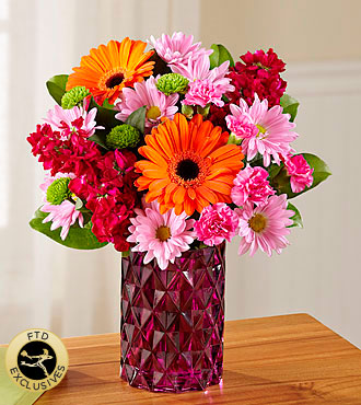 FTD� Brightly Bejeweled� Bouquet in Chelsea MI, Chelsea Village Flowers