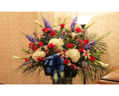 Funeral Basket 11 in Yonkers, New York, Hollywood Florist Inc