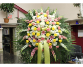 Standing Spray 8 in Yonkers, New York, Hollywood Florist Inc