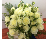 White Bouquet in Ammon ID, Petal Passion