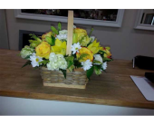 Spring Basket in Mississauga ON, Flowers By Uniquely Yours