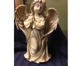 Resin Tall Praying Angel in Fayetteville GA, Our Father's House Florist & Gifts