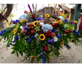 Casket spray in Orange Beach, Alabama, Flowers By The Shore