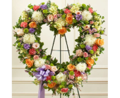 Always Remember Heart - Pastel in Largo FL, Rose Garden Florist