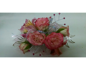 Corsage with Bling in McKees Rocks PA, Muzik's Floral & Gifts