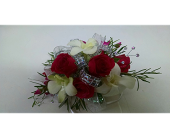 Corsage with Orchids in McKees Rocks PA, Muzik's Floral & Gifts