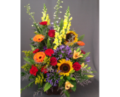 Autumn Splendor Basket Arrangement in Bowmanville, Ontario, Van Belle Floral Shoppes