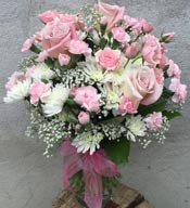 SWEET PINKS by Rubrums in Ossining NY, Rubrums Florist Ltd.
