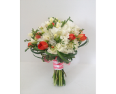 Tulip Bridal Bouquet in Orange Beach, Alabama, Flowers By The Shore