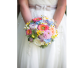 Garden Wedding Bouquet in Manhattan KS, Westloop Floral
