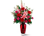 Teleflora's Big Red Bouquet in Canton NY, White's Flowers