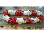 Double Orchid Lei in Fremont CA, Kathy's Floral Design