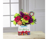 Birthday Brights in Noblesville IN, Adrienes Flowers & Gifts