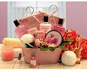 Pretty In Pink Basket in Bound Brook NJ, America's Florist & Gifts