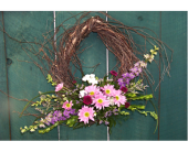 GRAPEVINE WREATH in Claremont, New Hampshire, Colonial Florist