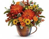 Teleflora's Autumn Sunrise Bouquet in Orlando FL, Elite Floral & Gift Shoppe