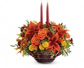 Teleflora's Rich And Wondrous Centerpiece in Katy TX, Kay-Tee Florist on Mason Road