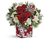Teleflora's Silver Christmas Bouquet in Stuart FL, Harbour Bay Florist
