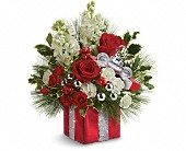 Teleflora's Wrapped In Joy Bouquet in Seattle WA, The Flower Lady