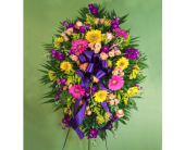 Feldis Colorful Sympathy Spray  in Merrick, New York, Feldis Florists