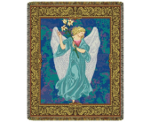 Angel in Blue Tapestry in Johnstown PA, Schrader's Florist & Greenhouse, Inc