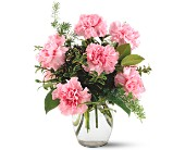 Teleflora's Pink Notion Vase in Bossier City LA, Lisa's Flowers & Gifts