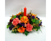 Centrepiece - Oranges in Belleville ON, Live, Love and Laugh Flowers, Antiques and Gifts