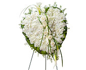 Elegant Love Heart in Methuen MA, Martins Flowers & Gifts
