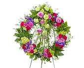 Forever Cherished Wreath in Prospect KY, Country Garden Florist