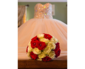 Red & White Roses in Yonkers, New York, Beautiful Blooms Florist