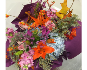Autumn Splendor Bouquet in Johnstown NY, Studio Herbage Florist