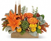 Teleflora's Fall Bamboo Garden in Port Alberni BC, Azalea Flowers & Gifts