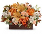 Teleflora's Fall Chic Bouquet in Cheyenne WY, The Prairie Rose