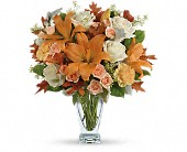 Teleflora's Seasonal Sophistication Bouquet in Seattle WA, The Flower Lady