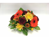 Autumn Centrepiece in Belleville ON, Live, Love and Laugh Flowers, Antiques and Gifts