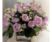 18 Purple Roses in Needham MA, Needham Florist