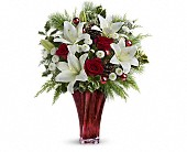 Teleflora's Wondrous Winter Bouquet in Milwaukee WI, Flowers by Jan