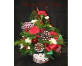 A Merry Soul Was He in Brentwood CA, Flowers By Gerry