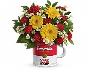 Campbell's Healthy Wishes by Teleflora in Johnstown NY, Studio Herbage Florist