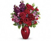Teleflora's Shining Heart Bouquet in Kalamazoo MI, Ambati Flowers