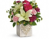 Teleflora's Love To Love You Bouquet in Oakland CA, Lee's Discount Florist