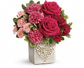 Teleflora's Swirling Heart Bouquet in North York ON, Julies Floral & Gifts