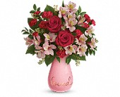 Teleflora's True Lovelies Bouquet in Metairie LA, Villere's Florist